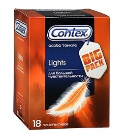 Презервативы Contex №18 Lights особо тонкие с силиконовой смазкой