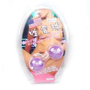 Анально-вагинальные шарики с мягкими шипами