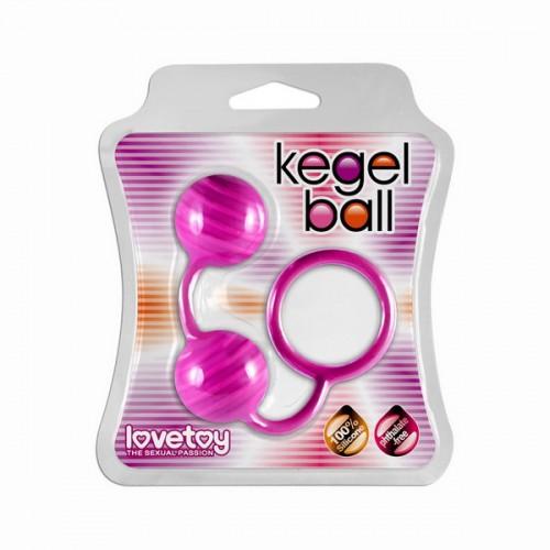 Шарики вагинальные Kegel ball розовые